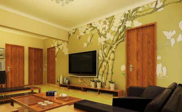 廊坊客厅手绘墙怎么设计 手绘墙设计要点