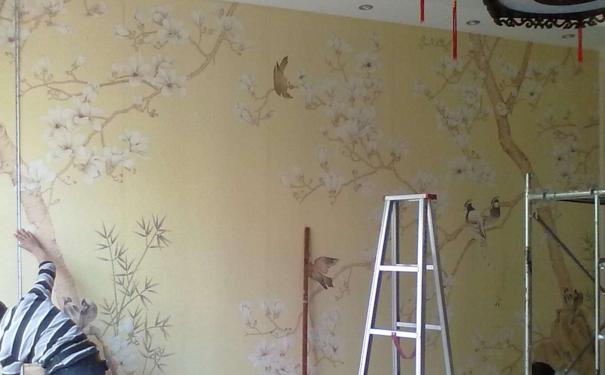 哈尔滨室内墙纸怎么贴 贴墙纸的方法