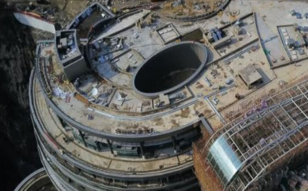 上海深坑酒店 预计上半年完工并试运营