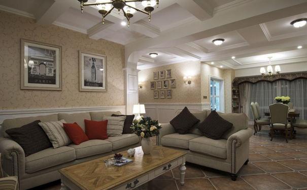 厦门美式客厅如何设计 美式客厅的设计要点