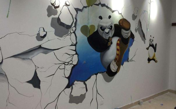 厦门餐厅墙绘如何设计 餐厅墙绘设计要点