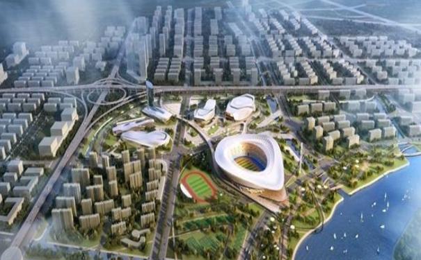 宁波奥体中心 工程将于9月完工