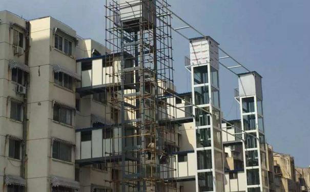 上海某小区不到一年完成加装电梯 这个老小区是怎么做到的