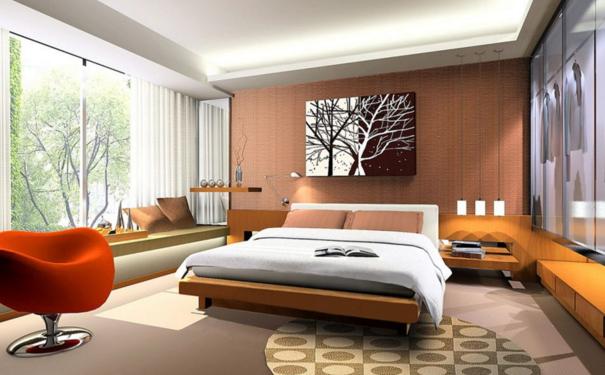 厦门温馨卧室色彩如何搭配 舒适温暖的卧室设计攻略