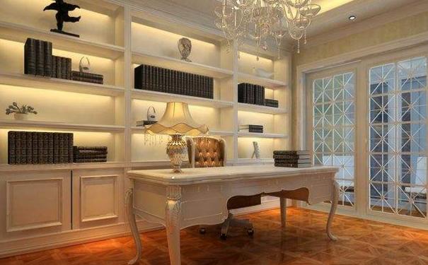 南通简欧书房如何设计 简欧书房设计要点