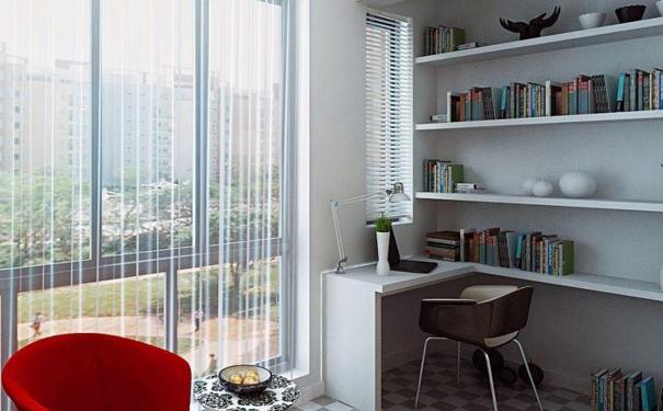 重庆阳台改书房怎么设计 阳台改书房设计要点