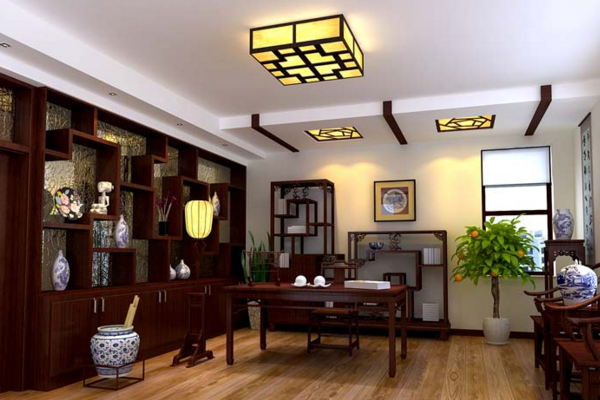 武汉20平中式书房如何装修 20平中式书房装修技巧
