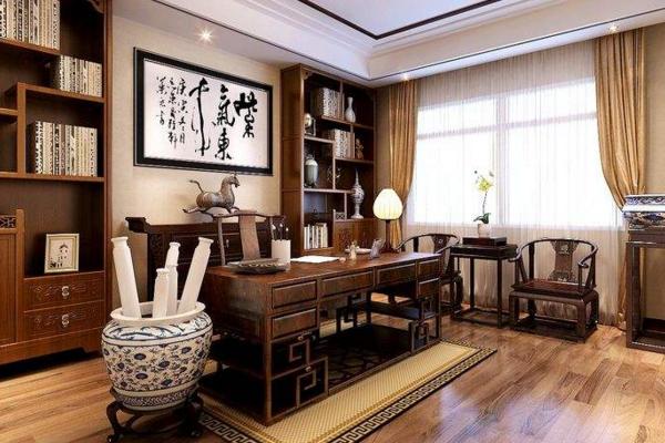 北京20平中式书房如何设计 20平中式书房设计要点