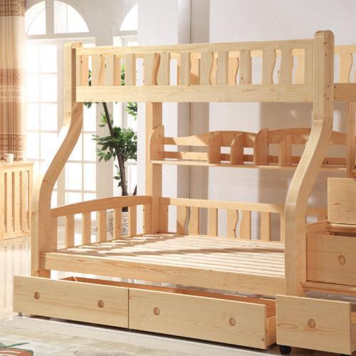 实木高低床的优缺点 实木高低床的选购方法