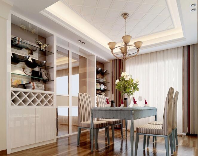 餐厅混搭风格怎么装修好看 餐厅混搭风格装修效果图