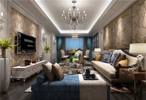 欧式客厅装修搭配技巧 欧式客厅装修效果图