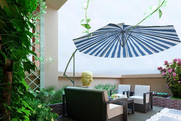 南平阳台花园如何设计