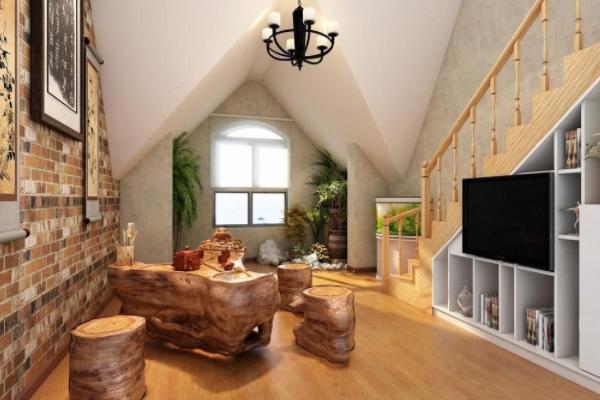 上海40平小复式别墅装修效果图 40平如何装修成小复式别墅