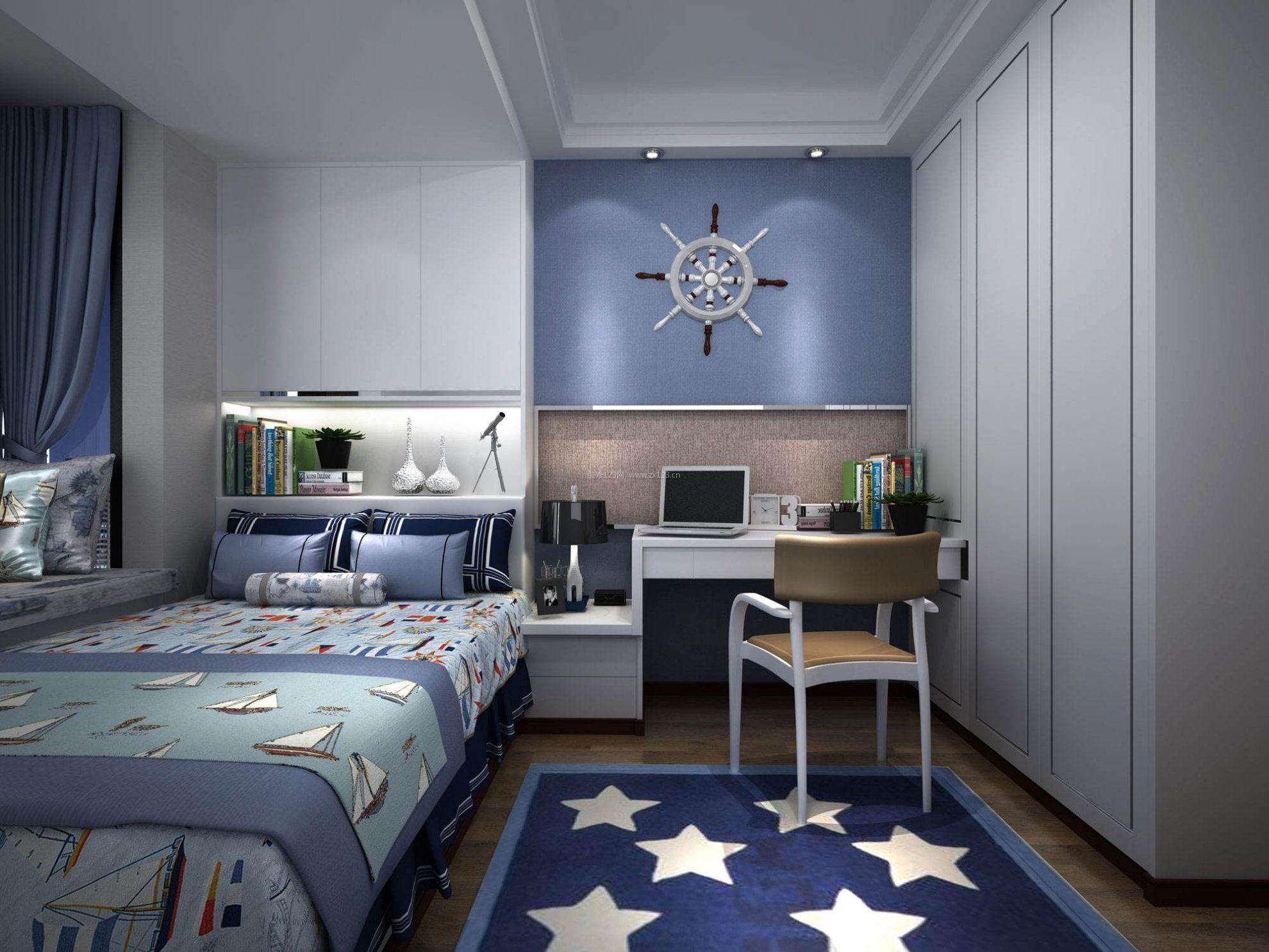 乌鲁木齐男生卧室装修设计 男生卧室装修讲究哪些要素