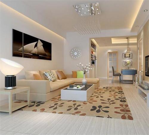 杭州客厅铺地毯效果图大全 如何选择最优雅的客厅地毯