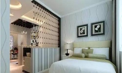 2018卧室客厅隔断墙造型效果图 别具一格的隔断造型