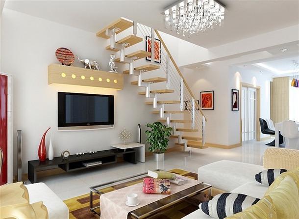 南京客厅楼梯如何设计 复式客厅上下楼梯设计误区大全