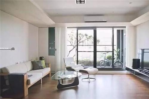 南昌90小户型装修样板房 简约低调的90小户型设计