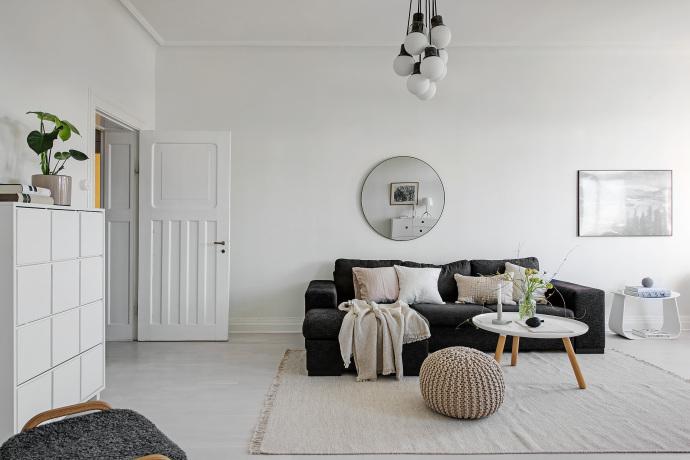 2018流行的冷色系装修效果图 简约高冷的家居设计