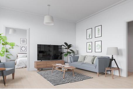 2018冷色系装修效果图 清冷别致的家居装潢