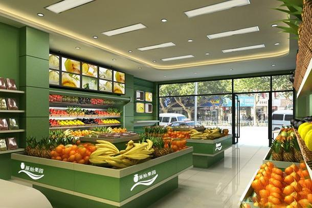 2019水果超市装修效果图赏析 想要吸引顾客全靠这点