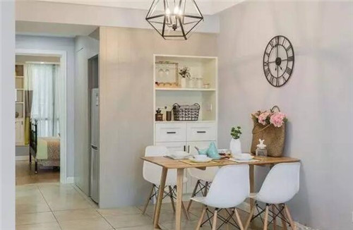 赤峰家居装修小户型设计案例 简单的85平两室一厅