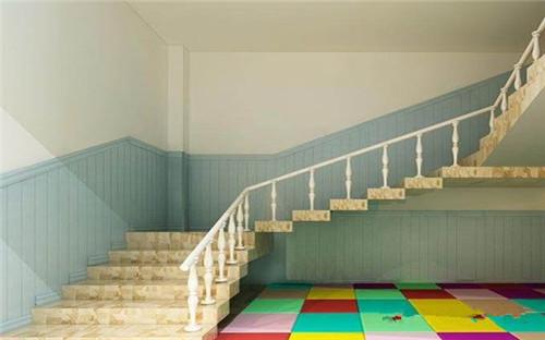 2019楼梯墙裙贴瓷砖效果图 厦门复古墙裙设计分析