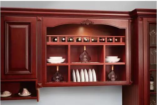 信阳客厅装饰酒柜柜效果图 抖音红透半边天的酒柜造型