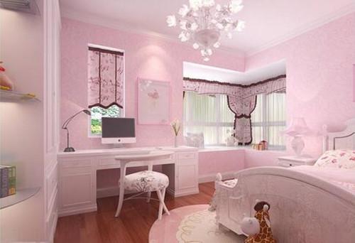 2019女孩卧室装修效果图 梦幻童话一般的公主房设计