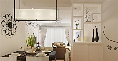 2019客厅和餐厅隔断效果图 典型4款隔断造型案例!