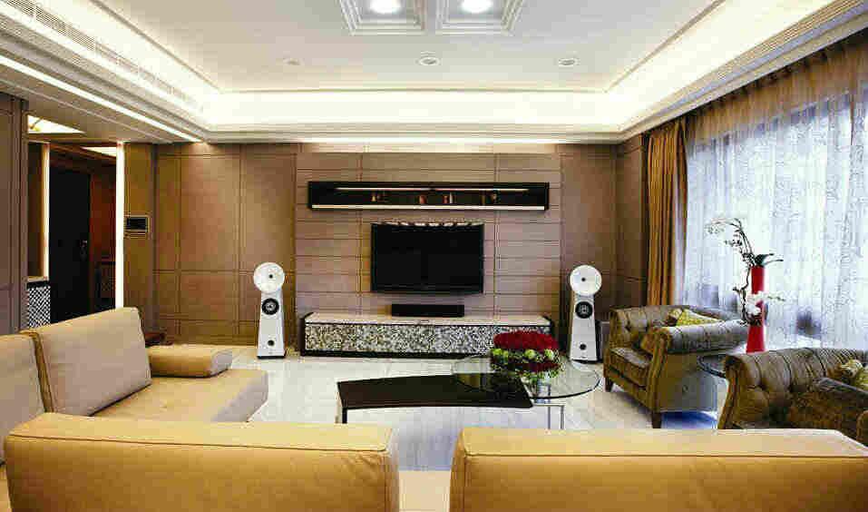 客厅装修音响如何布线 4款家装客厅5.1声道音响布置布线图