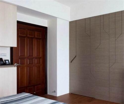 2019卧室玻璃门装修效果图 卧室门颜色选择大全