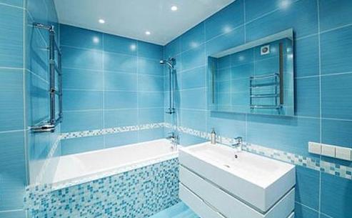 地中海风格卫生间装修效果图 打造新新潮卫生间