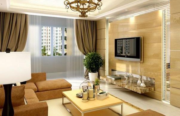 客厅风水知识——客厅窗帘颜色的风水禁忌