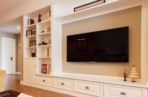 电视背景墙装修知识:客厅电视背景墙放在哪个位置好?