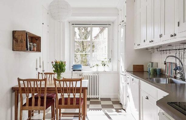 小厨房装修技巧是什么?小面积厨房装修注意事项