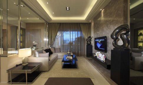 法式浪漫床幔 新古典奢华三房两厅