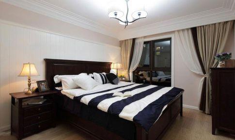 温暖舒适的新家 127平简约美式三居
