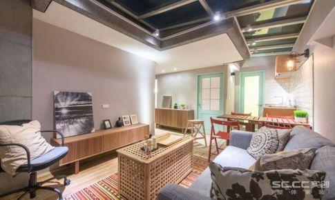 【上海实创装饰】80平怡佳公寓清新北欧风,精致宜家生活2居室