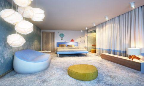 人人都爱的现代顶层公寓