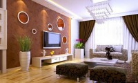 电视墙的颜色搭配技巧 让电视墙高大上