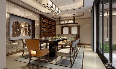 北京院子新中式风格设计方案