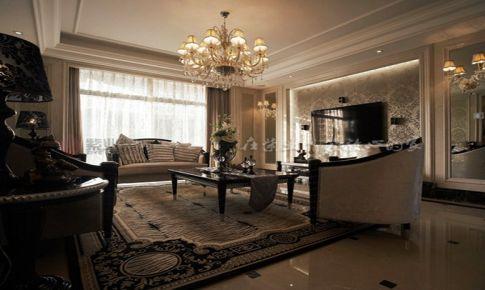 【紫业装饰】打造 128㎡ 欧式风格三居室
