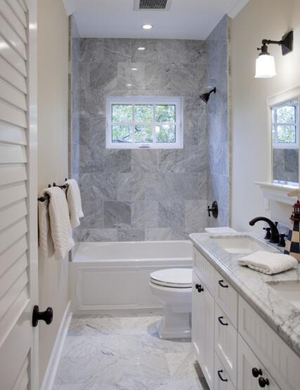 长方形的卫生间怎么装修好看