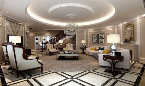 楼盘:泗泾颐景园 位置:松江区 面积:520平 设计风格:欧式