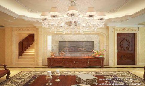 重庆天古装饰|重庆大学城龙湖拉特芳斯别墅设计装修|欧式风格别墅装修案例|别墅装修案例|设计师陈益都