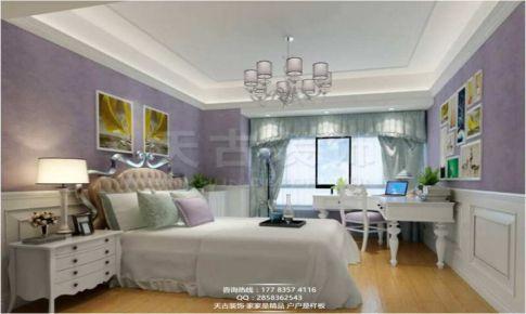 重庆天古装饰重庆鲁能星城设计装修案例简欧风格装修案例吴志强