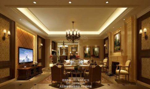 重庆天古装饰重庆山院里设计装修案例欧式风格装修案例余杰