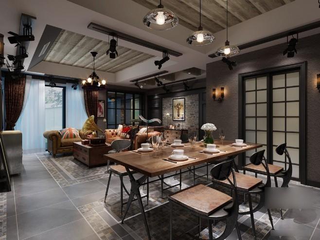 客廳餐廳一體怎么裝修好看 看看19款案例圖片