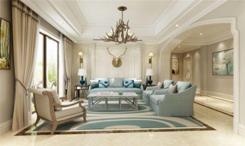 东海高尔夫俱乐部别墅装修欧式风格设计方案展示